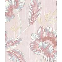 Murella 100 M7613 Çiçek Motifli İtalyan Duvar Kağıdı