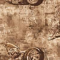 Freedom 14247-1 Motorsiklet Görünümlü Duvar Kaðýdý