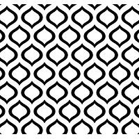 New Selection 315-1 Siyah Beyaz Damla Desenli Duvar Kaðýdý