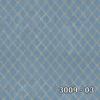 Armani 3009-03 Mavi Baklava Desen Duvar Kaðýdý