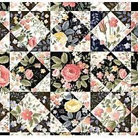 Floral Collection 5114 Patchwork Duvar Kaðýdý