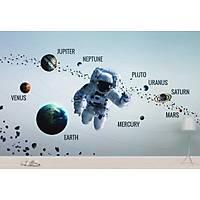 DL 7227 Astronot Görünümlü Duvar Posteri