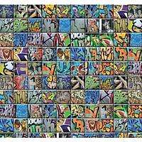 Pop Art 512050 Graffiti Desenli Duvar Kaðýdý