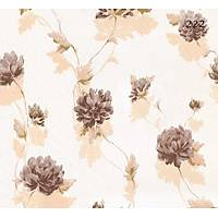 Halley Fashion 222 Kahverengi Çiçek Görünümlü Duvar Kaðýdý