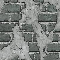 3D Single 2013 Vinil Eskitme Taþ Desenli Duvar Kaðýdý