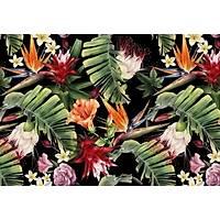 DL 4299 Palmiye Yaprak Desenli Duvar Posteri