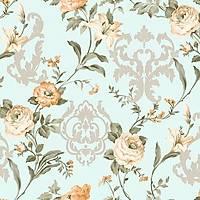 Seven 7803-2 Çiçekli Duvar Kağıdı