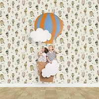 Kids Collection 15144-1 Balon Desenli Çocuk Odasý Duvar Kaðýdý