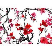DL 4351 Duvar Posteri Çiçek Desen