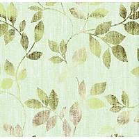 Floral Collection 5088 Yeþil Yaprak Desenli Duvar Kaðýdý