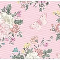 Floral Collection 5022 Kelebek Desenli Duvar Kaðýdý