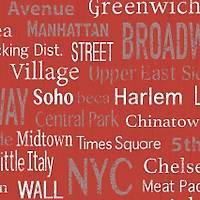 Freedom 14233-3 Harlem Yazýlý Duvar Kaðýdý