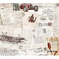 Bossini 2213-01 Kartpostal Desenli Duvar Kaðýdý