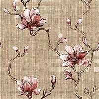Classic 358-D Çiçek Görünümlü Duvar Kağıdı