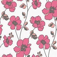 Vision 250-E Pembe Çiçekli Duvar Kağıdı