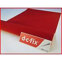 D-c-fix 205-1712 Kýrmýzý Kadife Kendinden Yapýþkanlý Folyo