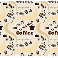 Pop Art 512078 Coffee Yazýlý Duvar Kaðýdý