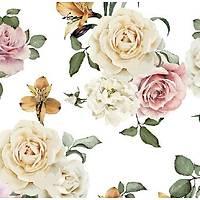 Floral Collection 5105 Çiçek Desenli Duvar Kaðýdý