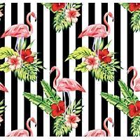 Pop Art 512094 Flamingo Desenli Duvar Kaðýdý