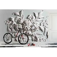 DL 7159 Çiçek Desenli 3D Duvar Posteri