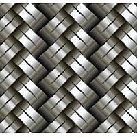 3D Art 7037 Demir Görünümlü Duvar Kağıdı
