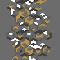 Hexagone L577-02 Geometrik Desenli Duvar Kaðýdý