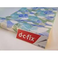 D-c-fix 200-2665 Çiçek Motif Kendinden Yapışkanlı Cam Vitray Folyo