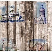 Pop Art 512012 Ýstanbul Temalý Duvar Kaðýdý