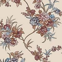 Harmony 155-C Çiçek Desenli Yerli Duvar Kaðýdý