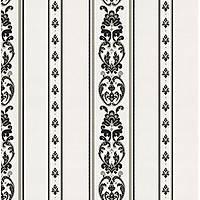 Rumi 6803-5 Damask Motif Çizgili Duvar Kaðýdý