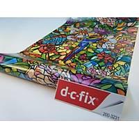D-c-fix 200-3231 Çiçek Görünümlü Cam Vitray Yapýþkanlý Folyo