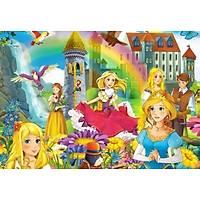 DL 4180 Prenses Çocuk Odasý Duvar Posteri