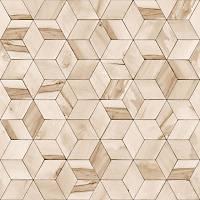 Hexagone L592-07 Ahþap Küp Desenli Duvar Kaðýdý