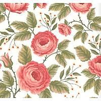 Floral Collection 5060 Çiçek Desenli Duvar Kaðýdý