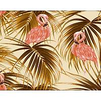 Elemental 42022-2 Flamingo Görünümlü Duvar Kaðýdý