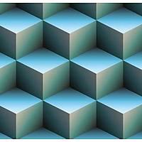 3D Art 7011 Merdiven Görünümlü Duvar Kaðýdý