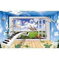 DL 7106 Piano Çocuk Odasý Duvar Posteri