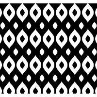 New Selection 311-1 Siyah Beyaz Modern Duvar Kaðýdý