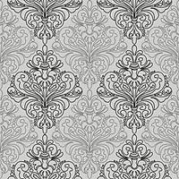 Harmony 117-B Gri Damask Desenli Duvar Kaðýdý