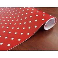 D-c-fix 200-3212 Kırmızı Puantiye Desen Kendinden Yapışkanlı Folyo