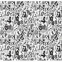 Pop Art 512023 Harf ve Rakamlý Duvar Kaðýdý