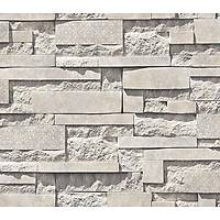 Anka 1601-1 3D Taş Desenli Duvar Kağıdı