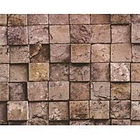 Deco Stone 9003-01 Taş Desenli Duvar Kağıdı