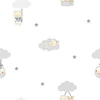 Milky Baby 400-1 Non Woven Bebek Odasý Duvar Kaðýdý