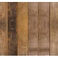 Stone And Wood 6114 Dikey Tahta Desenli Duvar Kağıdı