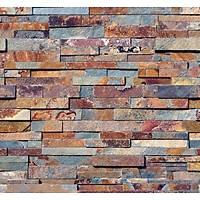 Stone And Wood 6039 Renkli Taþ Desen Duvar Kaðýdý