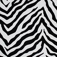 Piya More 2202 Gümüþ Siyah Zebra Desenli Duvar Kaðýdý