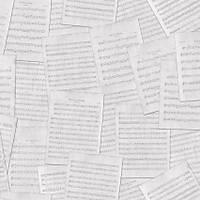 Freedom 14237-1 Müzik Notalarý Desenli Duvar Kaðýdý