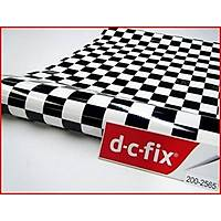 D-c-fix 200-2565 Siyah Beyaz Dama Desen Yapışkanlı Folyo
