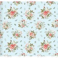Floral Collection 5059 Gül Desenli Duvar Kaðýdý